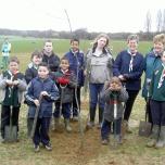 cubs tree planting