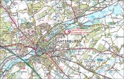 Leaflet location plan